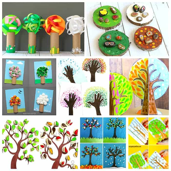 Four Seasons Craft and Activities for Kids