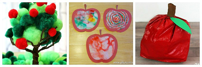 cool apple crafts for kids