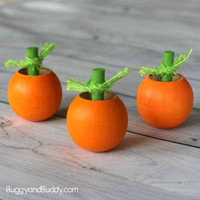 Halloween Science for Kids: Pumpkin Spinning Tops