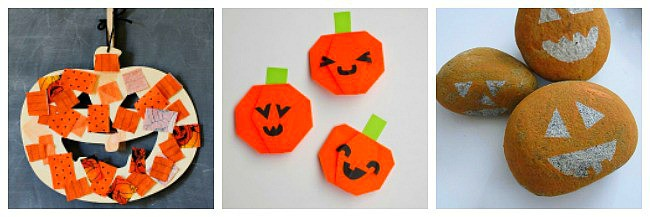 jack-o-lantern crafts for kids