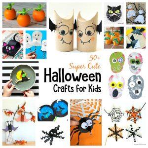 50 Super Cool Halloween Crafts for Kids