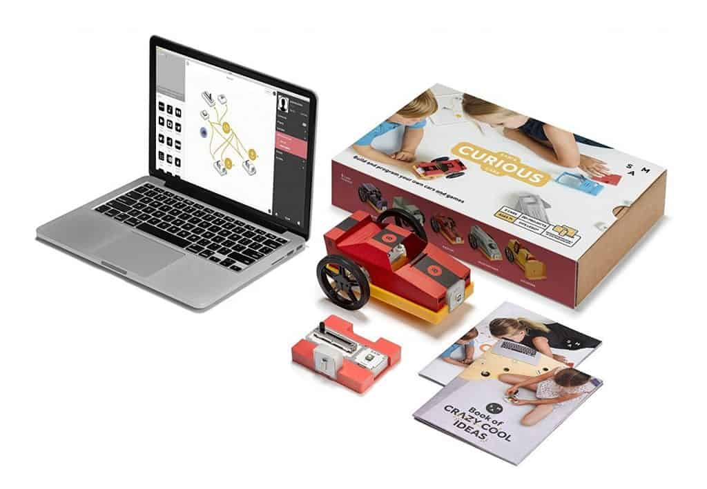 SAM Labs Curious Cars Kit STEM toy