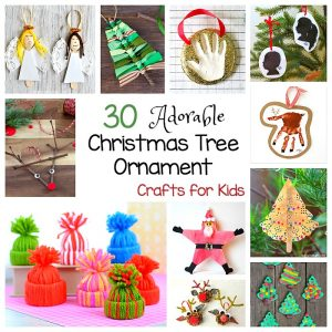 30 of the Cutest Christmas Ornaments for Kids to Make