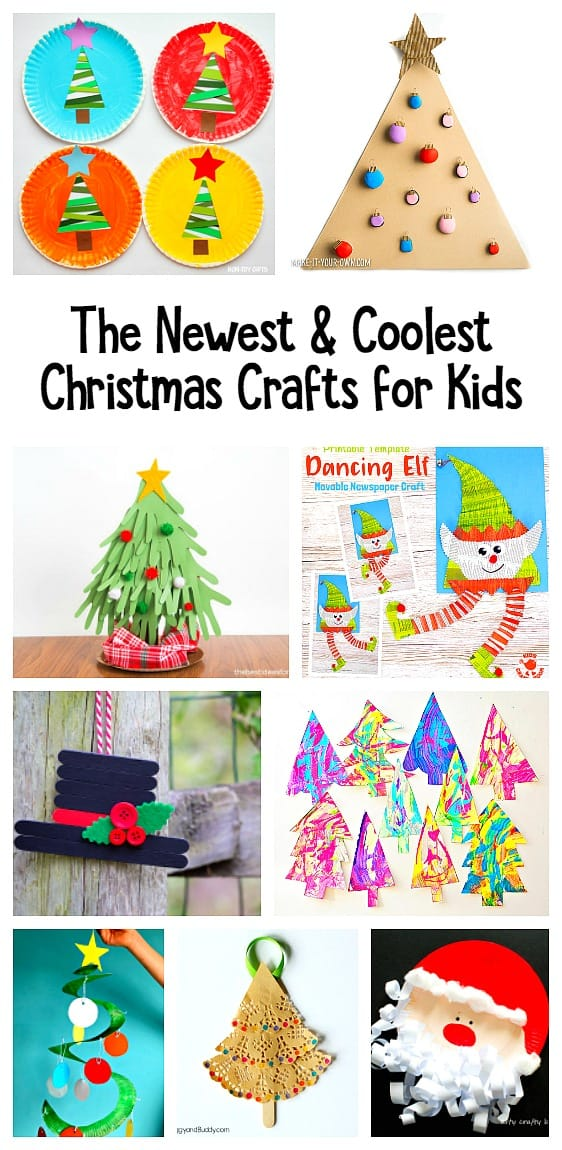 12 of the Coolest and Newest Christmas Crafts for Kids!