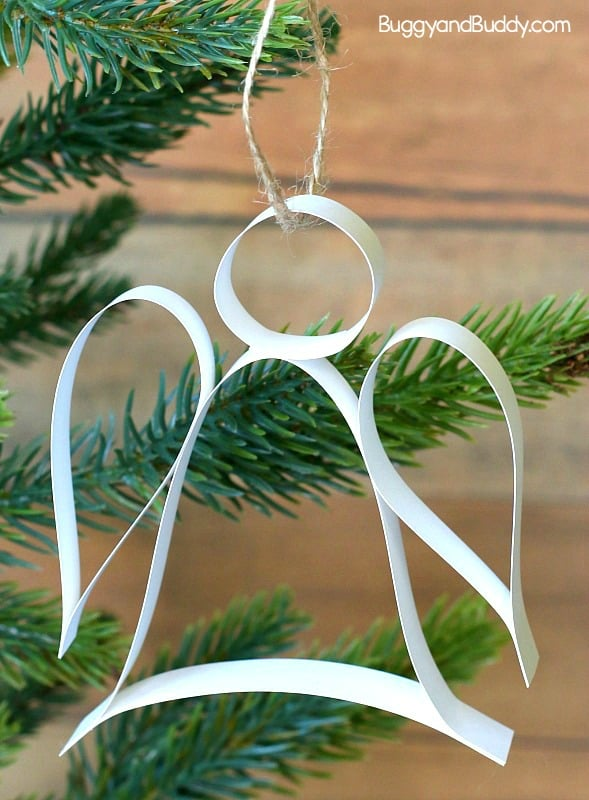 how to make paper angels for christmas