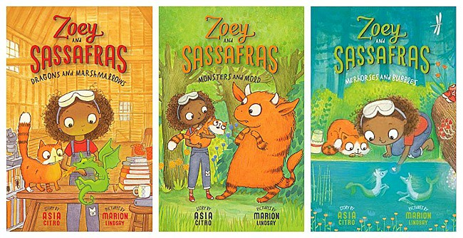 Zoey and Sassafras books