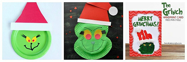 grinch crafts for kids