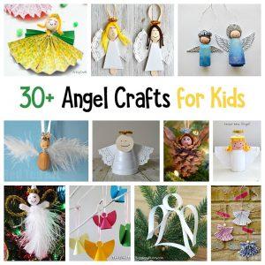 30+ Angel Crafts for Kids