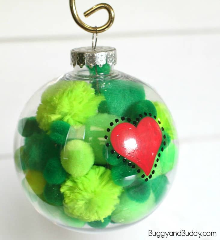 Christmas Decorations The Grinch: The Grinch Christmas Ornament Craft For Kids
