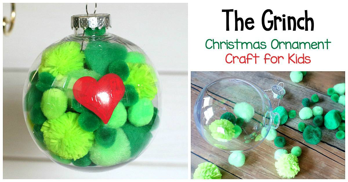 The Grinch Christmas Tree Decorations.The Grinch Christmas Ornament Craft For Kids Buggy And Buddy