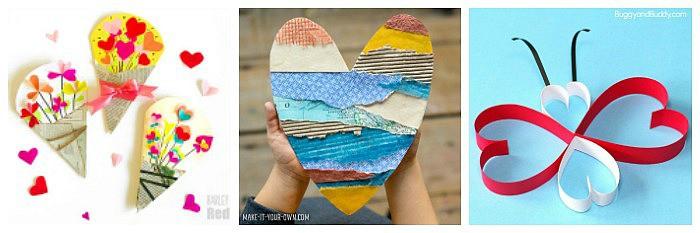 valentine's day crafts for kids