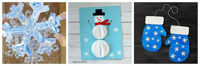 12 of the cutest winter crafts for kids