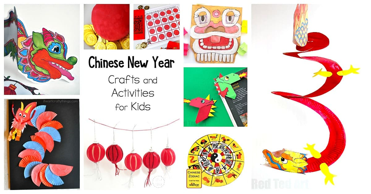Chinese New Year Crafts and Activities for Kids