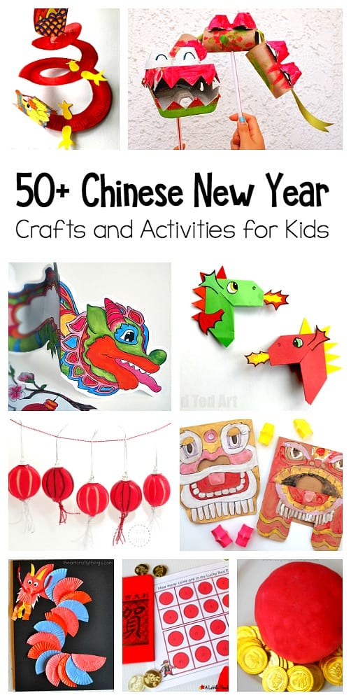 50 chinese new year crafts and activities for kids over 50 resources to celebrate - Chinese New Year For Kids