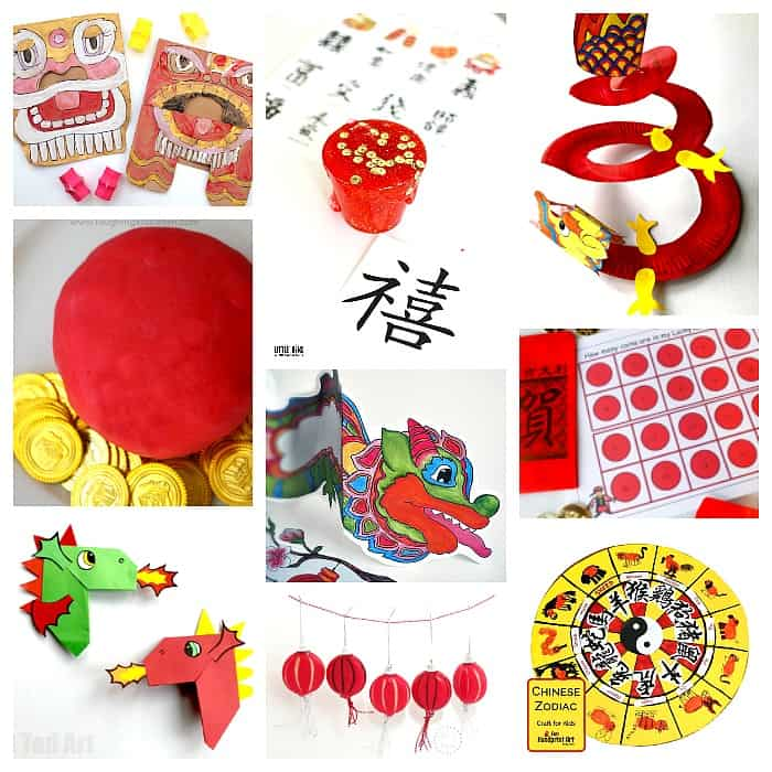chinese new year crafts and activities for kids - Chinese New Year For Kids
