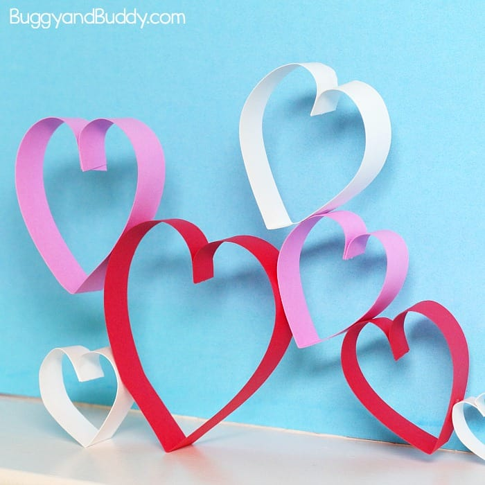 Valentine's Day STEAM: Building Structures with Paper Hearts