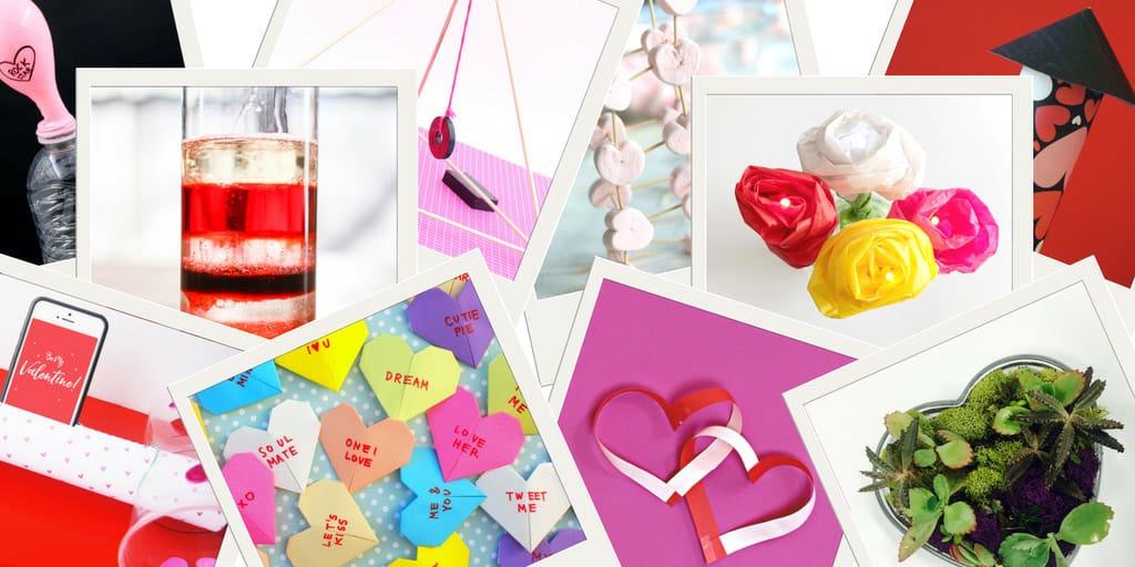 stem ideas for valentine's day