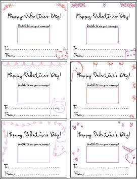 free printable scratch off valentines for kids