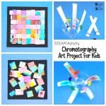 STEAM Activity for Kid: Chromatography Art Project