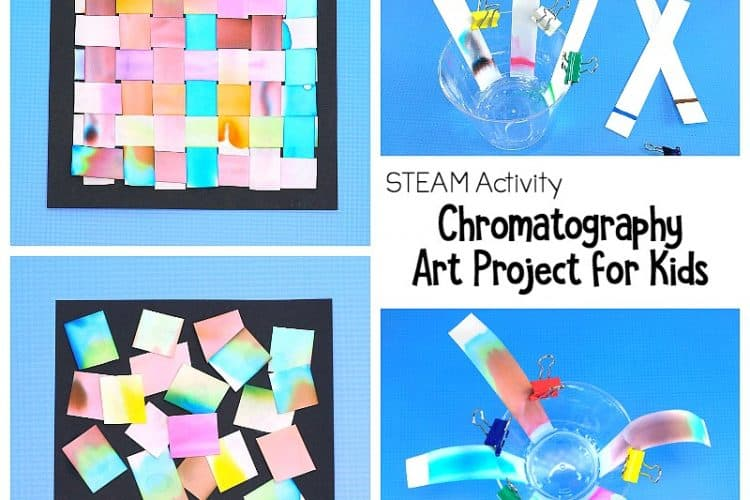 STEAM Activity: Chromatography Art Project for Kids
