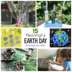 15 Meaningful Earth Day Activities for Kids