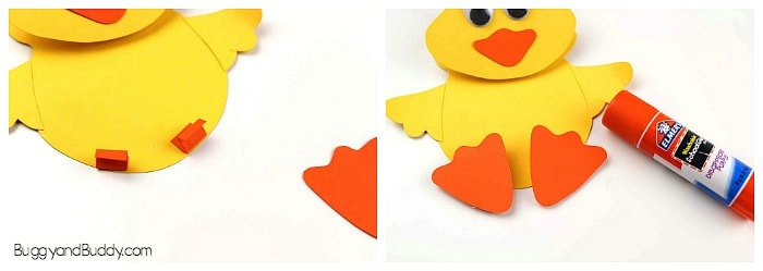 how to make a wobbly duck craft for kids