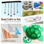 Beach Nature Crafts for Kids