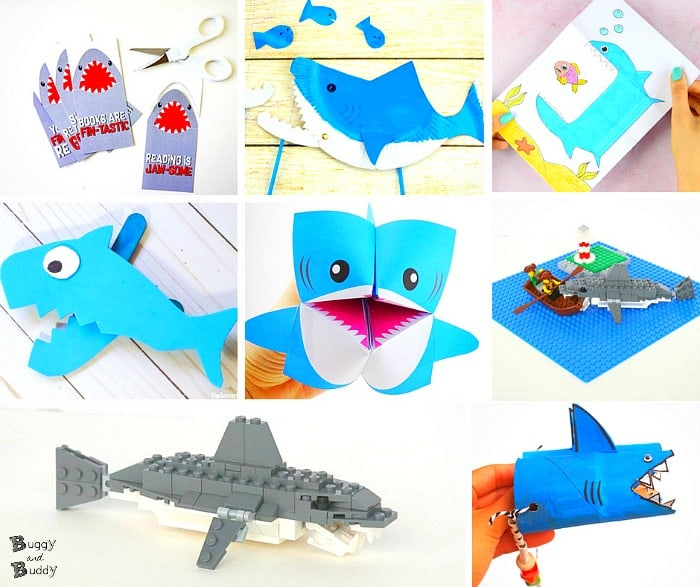 15 Super Cool Shark Crafts And Activities For Kids Buggy