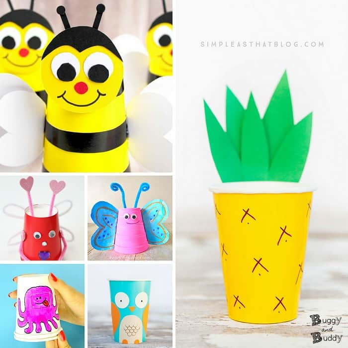 20+ Paper Cup Crafts for Kids