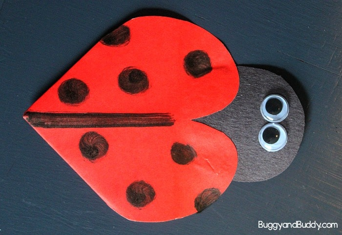 ladybug corner bookmark diy ladybug corner bookmark craft for buggy and buddy 2301
