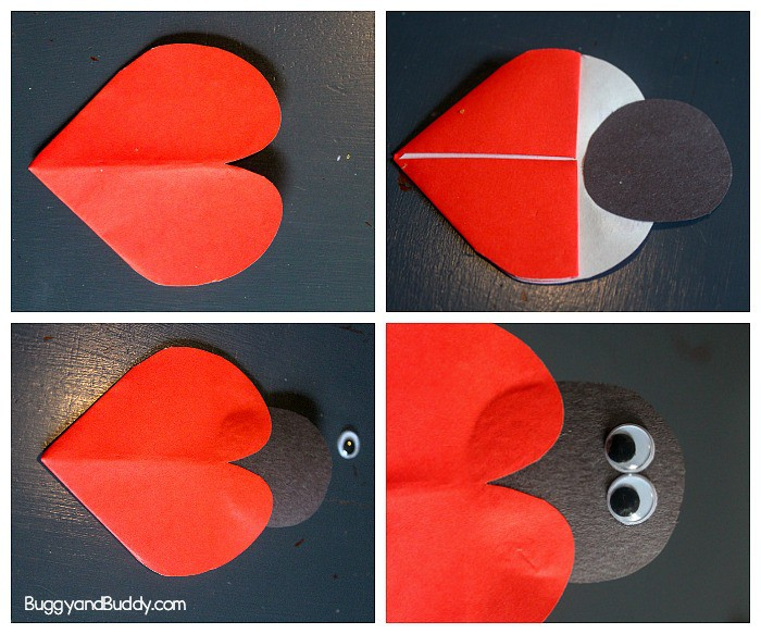 how to make a ladybug bookmark craft for kids