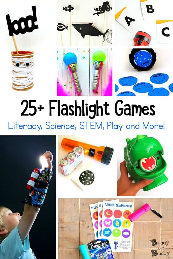 25+ Flashlight Games and Activities for Kids