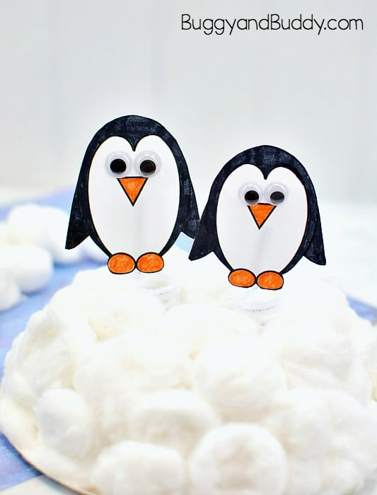 Waddling Penguin Winter Craft For Kids Buggy And Buddy