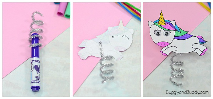 make your flying unicorn craft
