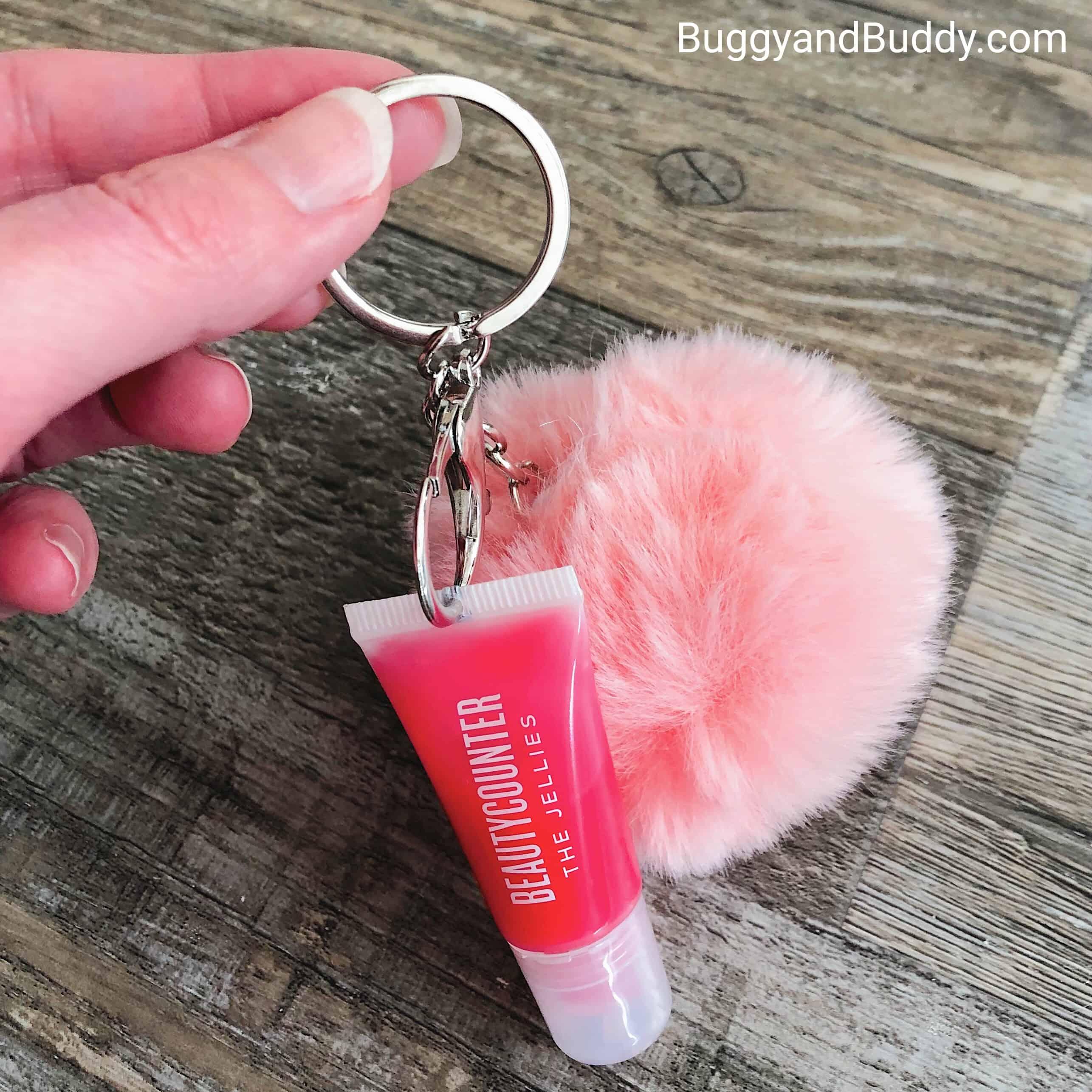 DIY Lip Balm and Pom Pom Keychain Craft for Kids