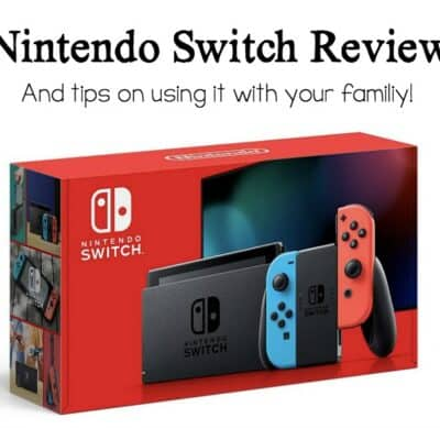 Nintendo Switch Review with Favorite Games for Kids