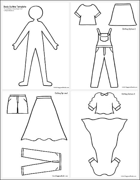 paper doll templates